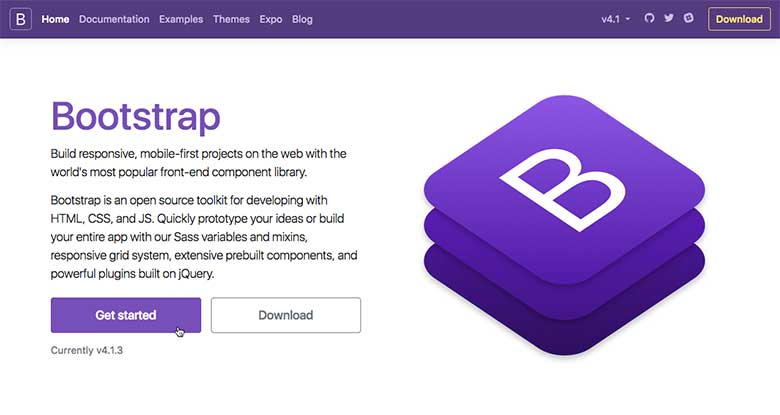 Front-end frameworks like Bootstrap make constructing modern web layouts a breeze