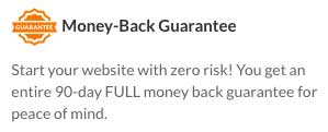 Web Hosting Hub offers a generous 90-day refund policy
