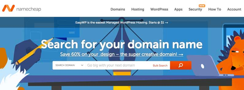 With NameCheap, you can point your domain name to your Web Hosting Hub account