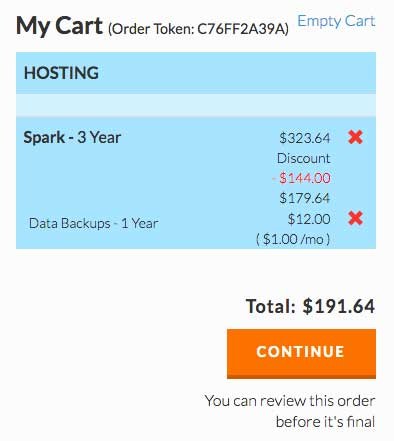 Web Hosting pricing might come as a surprise