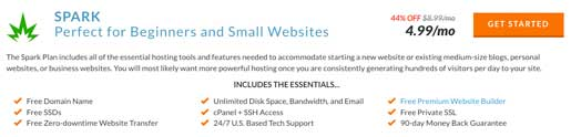In this Web Hosting Hub review, we'll detail what's included in the Spark plan
