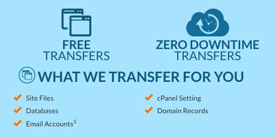 Web Hosting Hub offers free website migrations to ease your transition to their hosting