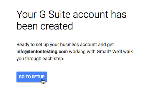 How To Set Up Google G Suite Email For Your Small Business