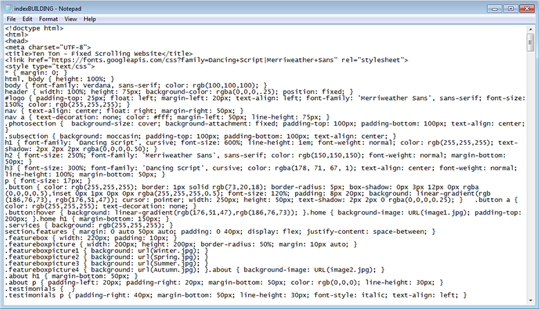 Back in the day, even before Dreamweaver, websites had to be coded line-by-line, all by hand