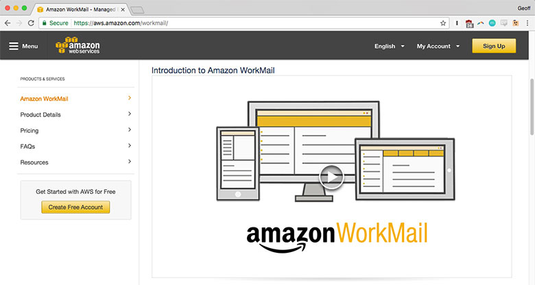 Amazon WorkMail looks to be a contender with Microsoft and Google. If you think they might be a fit, check them out!